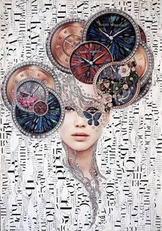 """Saatchi Art is pleased to offer the collage, """"*,"""" by Emilia Elfe. Original Collage: Paper, Photo on Paper, Other. Collages, Collage Artwork, Collage Artists, Mixed Media Collage, Magazine Collage, Magazine Art, Fashion Collage, Fashion Art, Surrealist Collage"""