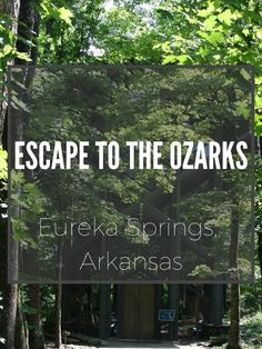 Eureka Springs is one of the truly beautiful places in America that few people have heard about. Perfect for solo escapes, girly getaways and romantic trysts. Escape to the Ozarks: Eureka Springs, Ar Romantic Camping, Romantic Vacations, Romantic Getaways, Romantic Destinations, Arkansas Vacations, Places To Travel, Places To Go, Eureka Springs Arkansas, Beautiful Places In America