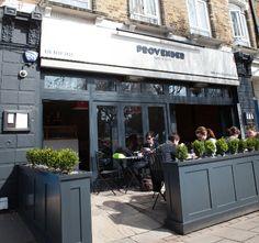 Provender, restaurant in Wanstead. Love breakfast here. East London, Store Fronts, Restaurants, Exterior, Display, Spaces, Contemporary, Orange, Gallery