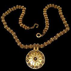 Babylonian Sun Shield Pendant, Assyrian Mesopotamian Babylonian Persian, Civilization