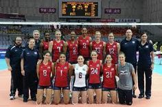 Women's 2012 USA Olympic Volleyball Team Photo