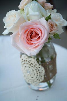 On A My DIY Wedding Flowers