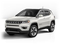 All New Jeep Compass Limited in Pearl White