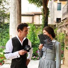 Wow 😍🎬 Cool 🎬👍🏻 #repost #thankyou @julienlandais 👍🏻👍🏻👍🏻👏🏻👏🏻👏🏻👏🏻 ••••••••••••••••••••••••••••••• ➡️🎬🔥 #JONATHANRHYSMEYERS and #JOELYRICHARDSON 🔥🎬 My two extraordinary lead actors! 🌿⛓📽⛓🌿 It's Getting #Hot in Venice ✨✨✨ #Dreams 💫 #filmmaking 🏛 #Henryjames 🏛 #theaspernpapers 💫