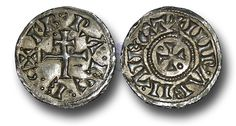 """H2049 - Viking Kingdom of York, Anonymous Issue, """"Siefred (Sigeferth) and or Cnut (Knutr)"""", (c.895-902), Penny, 1.56g., York mint"""