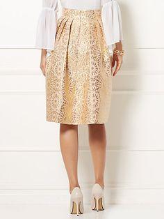 7ab85d77ff Eva Mendes Collection - Maddie Jacquard Skirt - New York   Company Eva  Mendes Collection