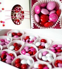 "Valentine's DIY Candy Box of ""Sweet"" Love"