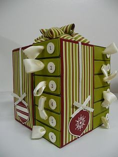 I love this Advent Calendar so much! I need to make one for my son and this one is definitely in the running!