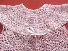 """Tejer: """"El arte de crear con tus manos"""".: Polera a crochet para bebé de 0 a 3 meses"""