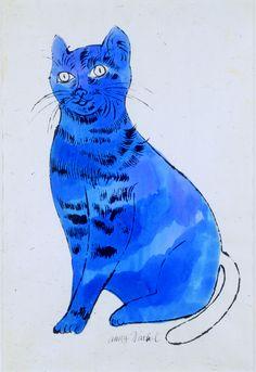 Sam (Blue), Andy Warhol, Circa 1954 #andywarhol