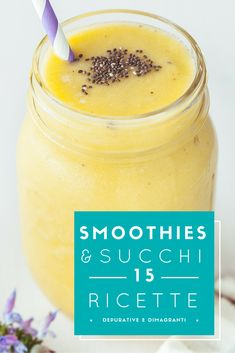 Ricette 15 Purifying and Slimming Recipes Visit the website frullatiamo.it/ to find out much more . Vegan Breakfast Smoothie, Vegan Smoothies, Low Fat Diets, No Carb Diets, How To Make Hamburgers, Healthy Snacks, Healthy Recipes, Slimming Recipes, Sweets