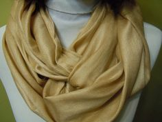Accessories Fashion infinity scarf soft scarf  by Natalyfashion
