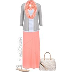 A fashion look from March 2015 featuring maurices, white shirt and long skirts. Browse and shop related looks.