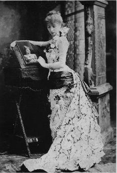 Portrait of Sarah Bernhardt, 19th century