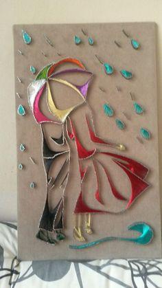 Clavos String Wall Art, Nail String Art, String Crafts, String Art Templates, String Art Patterns, Arte Linear, Diy And Crafts, Arts And Crafts, Rose Nail Art