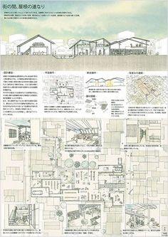 【三協アルミ】第1回学生デザインコンペ/結果発表 Architecture Panel, Architecture Graphics, Architecture Portfolio, Architecture Student, Architecture Design, Gothic Architecture, Presentation Board Design, Architecture Presentation Board, Design Competitions