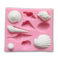 3D Silicone Diy Cake Mould Animal Shell Fondant Chocolate Decor Mold Baking Tool