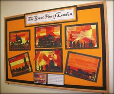 Great Fire of London Classroom Displays - Primary Facts Fire London, Great Fire Of London, The Great Fire, Primary Classroom Displays, Ks1 Classroom, Fire Crafts, People Who Help Us, London History, Primary Teaching