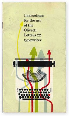 Dynamic Minimalism: Posters for Olivetti by Giovanni Pintori – SOCKS