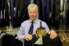 Garry Beverley is a tailor of impeccable pedigree who worked for Gieves and Hawkes in Savile Row for 29 years, managing the company's military workshop and working with foreign monarchs and the British Royal family.