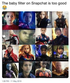 Peter Parker/Spiderman/Tom Holland doesn't look all that different. And Captain Marvel/Carol Danvers/Brie Larson looks like me Avengers Humor, Marvel Jokes, Funny Marvel Memes, Dc Memes, Marvel Dc Comics, Marvel Heroes, Marvel Avengers, Baby Avengers, Hulk Memes