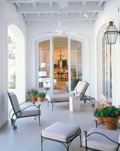 In Good Taste: Ken Tate - Design Chic#Homes #Garden #Porches