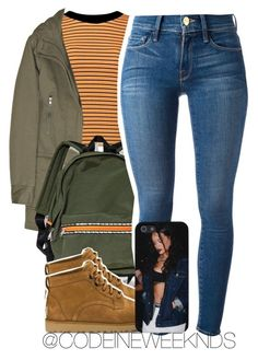 """2/23/16"" by codeineweeknds ❤ liked on Polyvore featuring Joseph, UGG Australia and Frame Denim"