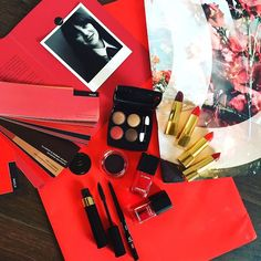 --> Chanel global creative makeup designer Luca Pica has debuted her autumn collection, Le Rouge Le collection No1. Following on from Chanel's love of red, Lucia has created a beautiful fall collec