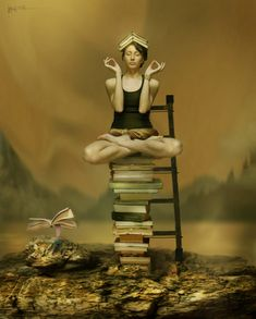 Zen book lover