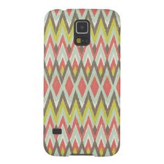 Tribal Ikat Galaxy S5 Covers