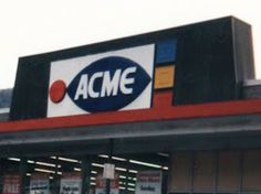 The supermarket of my youth.