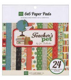 Echo Park Paper Company™ Teacher's Pet Double-Sided Paper