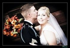 Military wedding pics