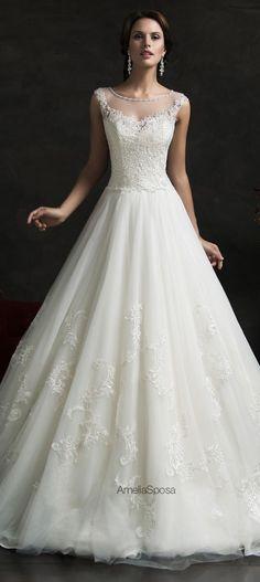 Amelia Sposa 2015 Wedding Dress - Luiza by aileen