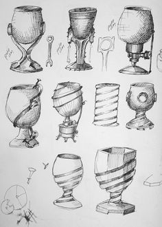 Cup Sketches | Flickr - Photo Sharing!