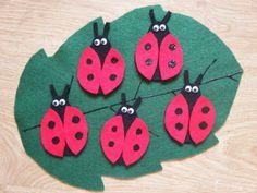 Felt Board Ideas: Ladybug, Ladybug Fly Away Home: Ideas for the Felt Board