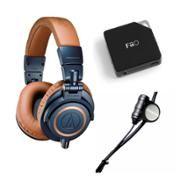 Audio-Technica Professional Studio Monitor Headphones With Zalman and FiiO Monitor, Top Audio, Music Lovers, Headset, Dj, Headphones, Studio, Walmart, Tech