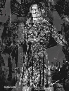 Malgosia Bela por Craig McDean para Vogue Italia Outubro 2014 [Editorial]