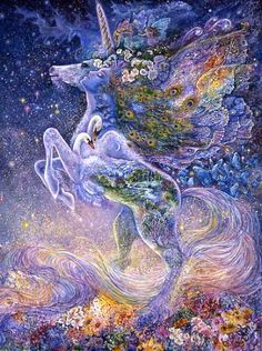 Josephine Wall | Soul of a Unicorn | Josephine Wall |