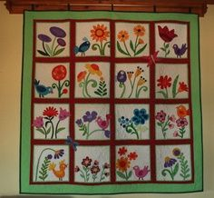 My Whimsical Quilt Garden Pattern by Becky Goldsmith and Linda Jenkins.