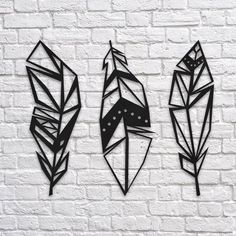 GeoFeathers Metal Wall Art Northshire MetalWall ArtDimensions: x x x mm steelColor: Textured Black PaintPacking: Sturdy box suitable for transport and gift. The post GeoFeathers Metal Wall Art appeared first on Metal Diy. Metal Tree Wall Art, Framed Wall Art, Metal Wall Art Decor, Metal Artwork, Outdoor Metal Wall Decor, 3d Wall Art, Wall Mural, Metal Art Projects, Housewarming Gifts