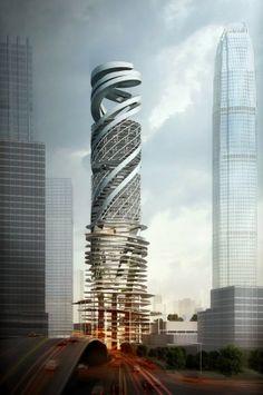 The Car Park Tower, Hong Kong