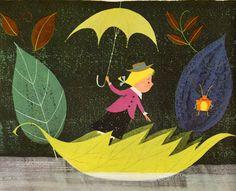 A Child's Garden of Verses  by Robert Louis Stevenson, illustrated by Alice & Martin Provensen (1951).