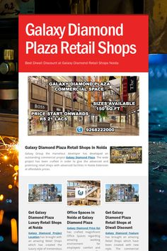 Galaxy Diamond Plaza Retail Shops