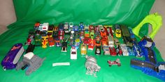 68 Hot Wheels Toy Vehicles Include Red Line 1969 Red Baron, 80's 90's 00's cars  find me at www.dandeepop.com