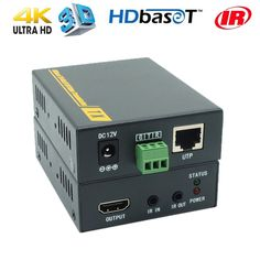 4Kx2K HDBaseT HDMI POE Extender 70m With No Delay No Loss HDMI Over CAT6 RJ45 Extender HDMI 1.4v Support With Single Power Plug