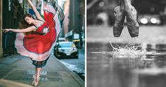 Breathtaking Portraits Of Ballet Dancers Practicing On The Streets Of New York | Bored Panda