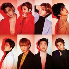 Exo Chen, Exo Kai, Park Chanyeol, Sehun And Luhan, Bts And Exo, Exo Group, Exo Album, Exo Lockscreen, Exo Ot12