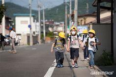 Greenpeace denuncia que el Gobierno japonés quiere forzar a miles de personas a volver a zonas contaminadas por radiactividad