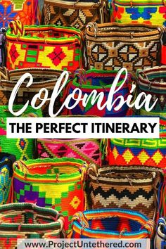Looking for the ultimate Colombia itinerary? You're in luck. I've put together the most EPIC 3 week Colombia itinerary known to mankind. It includes awesome lesser-known places to visit, as well as main cities like Medellin, Cartagena, and Bogota. Click through for a detailed day-by-day plan of all the best things to do in Colombia, handy maps, and other insider Colombia travel tips. #colombia #southamerica #gringotrail #colombiatravel #cartagena #medellin #bogota #cali #itinerary #travel